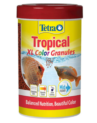 2 Qty Tetra Tropical XL Color Granules with Natural Color Enhancer Free Shipping