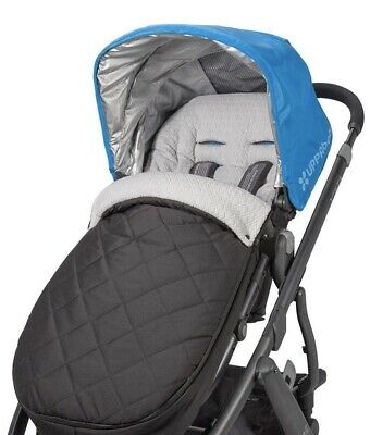 UPPAbaby Cozy Ganoosh Winter Footmuff. Jake Black - Fits all Uppababy Strollers