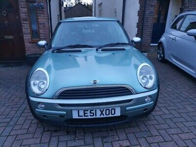Mini One 2001 Automatic Ultra low mileage 64k, Rare Silk Green, Pan sunroof