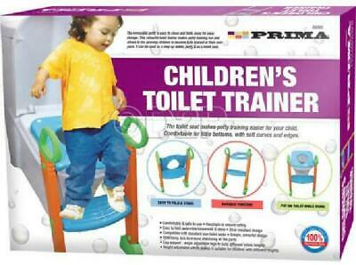 Baby Toddler Childrens Potty Training Toilet Seat Trainer Urinal Chair Ladder