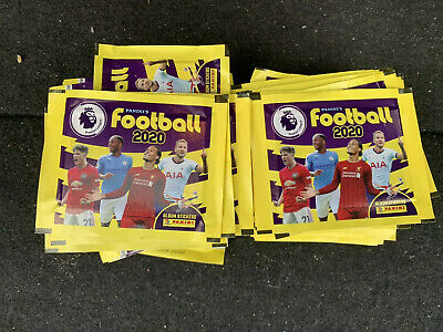 50 X Panini Football 2020 Official Premier League Sticker Collection Packets NEW