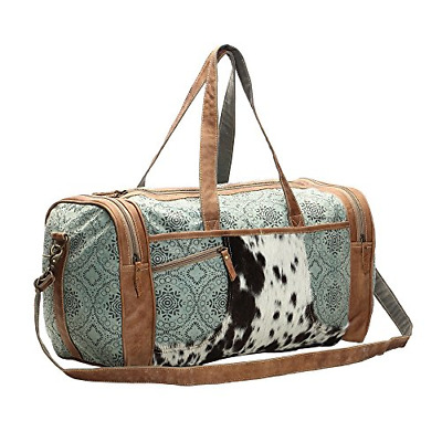 Myra Bag Floral Upcycled Canvas Cowhide Leather Travel Bag S 0999 Travel Totes The thick waterproof cloth originally used to make the bag was. myra bag floral upcycled canvas