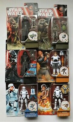"HASBRO STAR WARS 3.75"", Rogue One, Rebels, The Force Awakens, Armour Up"