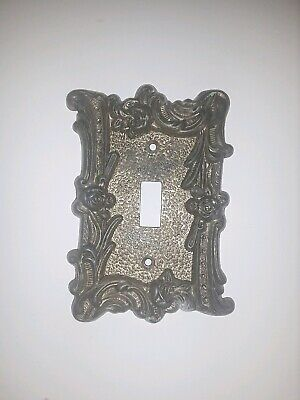 Vintage EDMAR Single Light Switch Plate Wall Outlet Cover Light Switch
