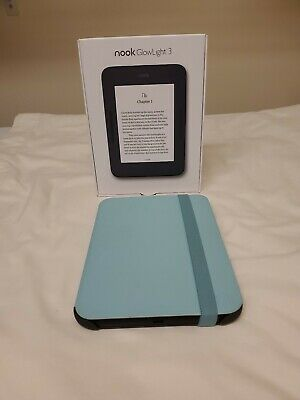 "BARNES&NOBLE NOOK GLOWLIGHT 3 8GB 6"" Wifi Ebook Reader +Night Mode"