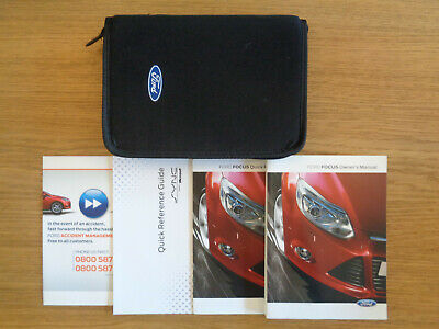 Ford Focus Owners Handbook/Manual and Pack 11-14