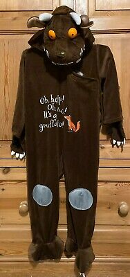 CHILDS FANTASTIC  **THE GRUFFALO** FANCY DRESS OUTFIT - WORLD BOOK DAY 3-5yrs