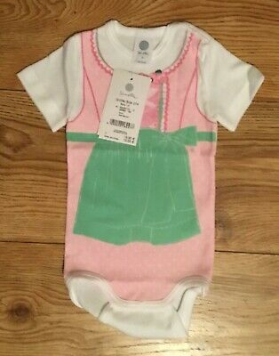 Brand New With Tags Baby Girls Sanetta Bodysuit Age 9 Months