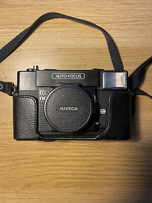 KONICA C35 AF 35mm Film Point & Shoot Auto Focus Camera with 38mm F/2.8 Lens