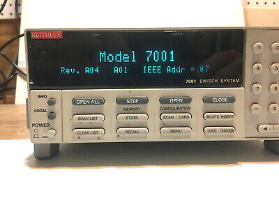 Keithley 7001 Switch System (IEEE488)