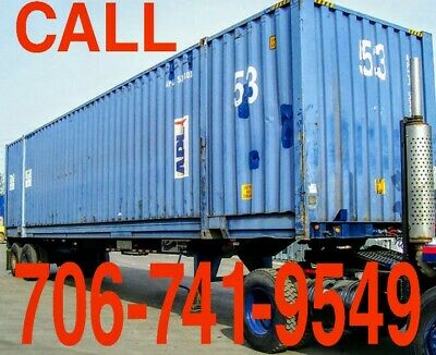 53ft Steel Weather Proof Shipping/Self Storage Containers! Delivery Available!