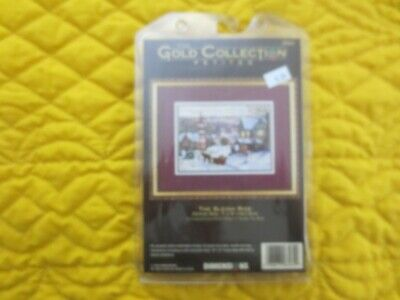 Dimension GOLD COLLECTION Petites THE SLEIGH RIDE Cross Stitch SEALED Kit #8562
