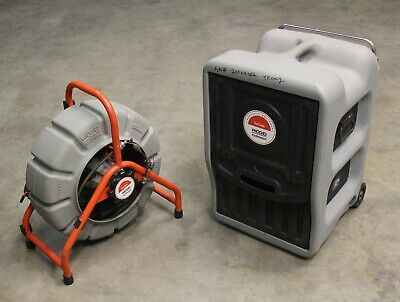 Ridgid Kollmann Seesnake 200' Sewer Inspectionw/ Count (No Camera) VCR Monitor