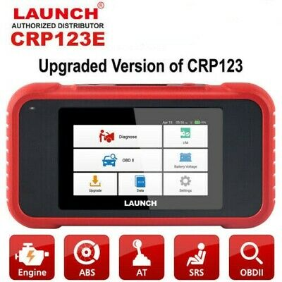 DHL LAUNCH CRP123E OBD2 Auto Scanner Check Engine Airbag ABS Transmission Tool