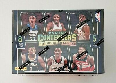 2019-20 Panini Contenders NBA Basketball Cards Blaster Box FACTORY SEALED, ZION?