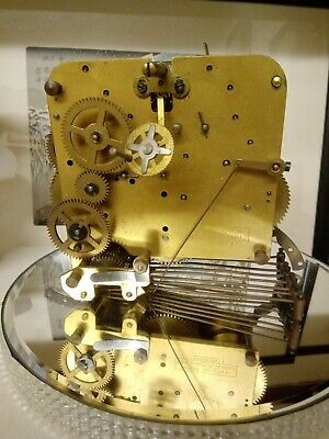 CLOCK MOVEMENT 421434 untested with hammers stripped from clock