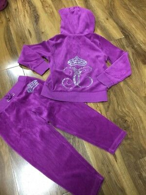 Juicy Couture Girls Tracksuit Size S