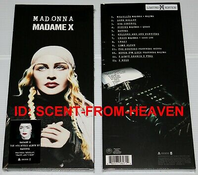 Madonna - Madame X - Limited Edition Longbox Cd - With Hype Sticker - Sealed!