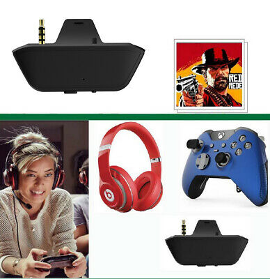 For Xbox One Controller Microsoft Xbox Stereo Headset Game Adapter Wireless