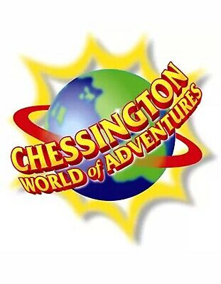 Chessington World Of Adventures Tickets - E-Tickets x 2 - Monday 15th June 2020