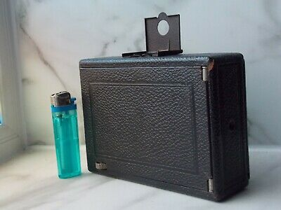Vintage Folding Plate Camera by F Deckel Munchen, Compur with Zeiss Lens