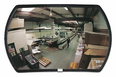 Rectangular Indoor Convex Mirror, 160° Viewing Angle, 35 ft. Approx. Viewing