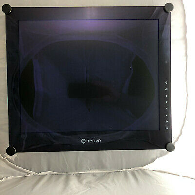 AG Neovo Monitor SX-17P LED Display 17 Zoll schwarz 5:4