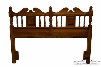 TELL CITY Solid Hard Rock Maple Colonial Style Queen Size Headboard - #48 And...