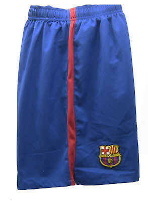 New NIKE BARCELONA Home Football Shorts Blue Youth Boys Girls XL Age 13-15 Years