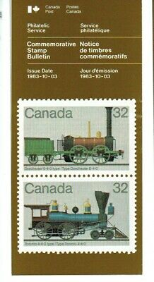 Canadian Canada Post Office LOCOMOTIVES info brochures
