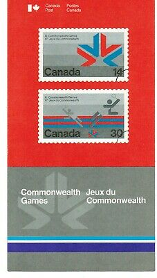 757 (x 3)Commonwealth Games Canada Post Office Poster & Brochure