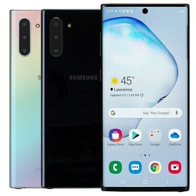 Samsung Galaxy Note 10 256GB Smartphone AT&T Sprint T-Mobile Verizon or Unlocked