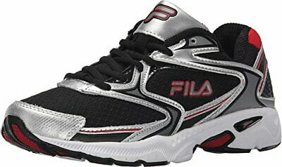 FILA XTENT 5 Size 9 12 Running Shoes Mens Silver Black