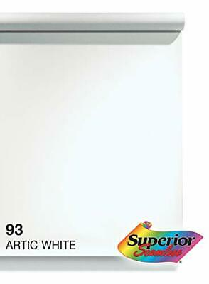 Superior Seamless Photography Background Paper, 93 Arctic White