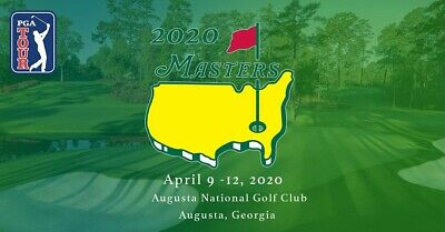 Two tickets for Masters Golf Practice Round, Monday April 6, 2020 at Augusta.