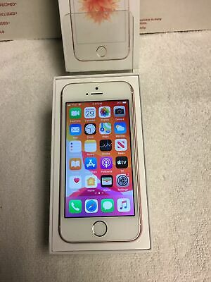 Iphone SE 128GB Unlocked Rose Gold Looks & Works Excellent In Box! See Pix  L@@K