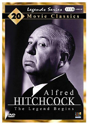 Alfred Hitchcock - The Legend Begins (DVD, 2007, 4-Disc Set) 20 Classic Movies