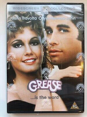 GREASE DVD Included Songbook Brand New and Sealed Unopened Widescreen Collection