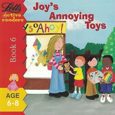 Children's Phonics Story Book: Letts Active Readers: Joy's Annoying Toys