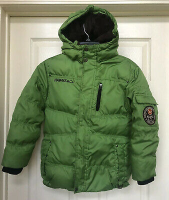 Hawke /& Co Outfitter Branson Boy's Hooded Puffer Coat Sz 8 Cordial