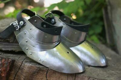 SCA LARP Steel Shoes knights protection with sabatons foot Medieval Gift