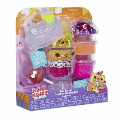 Num Noms SNACKABLE SLIME SUNDAES - TROPICAL Toy Playset