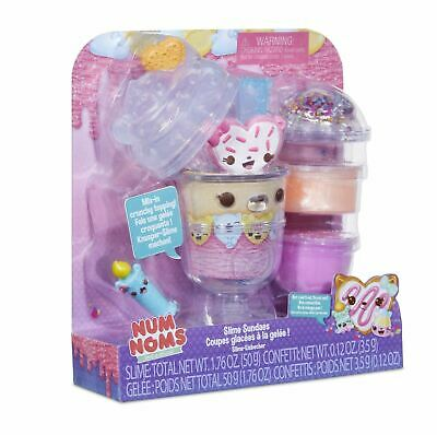 Num Noms SNACKABLE SLIME SUNDAES - BIRTHDAY Toy Playset