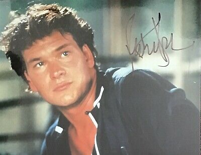 Patrick Swayze Authentic Signed Dirty Dancing 10X8 Photo Aftal#198