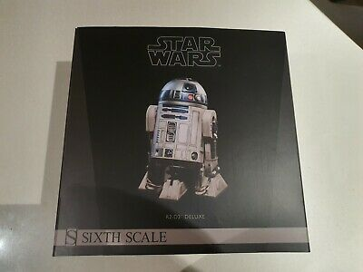 Star Wars Sideshow Sixth Scale R2-D2  1/6 Deluxe Figure r2d2