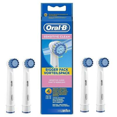 Braun Oral-B Sensitive Clean Electric Toothbrush Replacement Brush Heads