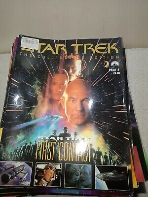 Star Trek The Collector's Edition Magazines Complete Collection Issues 1-70