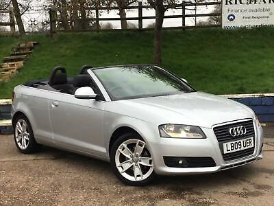 Audi A3 Cabriolet 1.9TDI 2010MY Sport DIESEL CONVERTIBLE