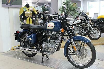 New Royal Enfield Classic 500 In Lagoon Blue