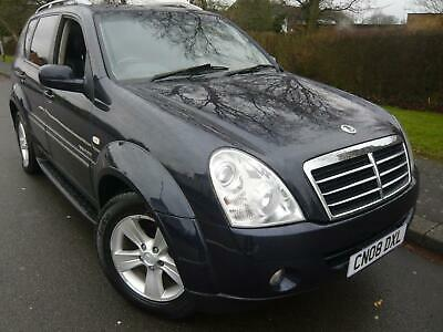 2008/08 SSANGYONG REXTON 2.7TD ( 183bhp ) 4X4 SPR 270 DIESEL AUTOMATIC